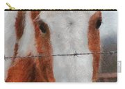 No Fences Carry-all Pouch