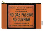 No Gas Passing Carry-all Pouch