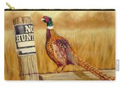 No Hunting   Pheasant Carry-all Pouch