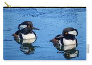 Male Hooded Merganser Pair Carry-all Pouch