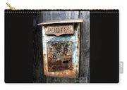 No Mail Today Carry-all Pouch by France  Art