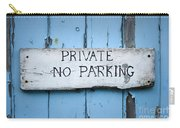 No Parking Sign Carry-all Pouch