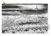 No Place Like Home 1 Bw Palm Springs Carry-all Pouch