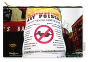 No Rats Carry-all Pouch
