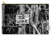 No Wake - Bw Carry-all Pouch