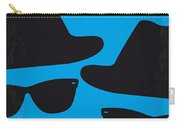 No012 My Blues Brother Minimal Movie Poster Carry-all Pouch by Chungkong Art