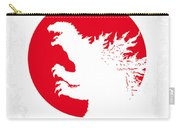 No029-2 My Godzilla 1954 Minimal Movie Poster.jpg Carry-all Pouch by Chungkong Art