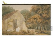 No.0735 A Country Churchyard, C.1797-98 Carry-all Pouch