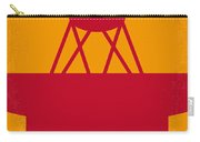 No081 My Star Trek 1 Minimal Movie Poster Carry-all Pouch by Chungkong Art