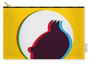 No096 My Tintin-3d Minimal Movie Poster Carry-all Pouch