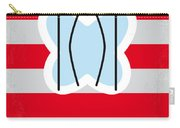 No098 My Papillon Minimal Movie Poster Carry-all Pouch by Chungkong Art