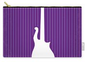 No124 My Purple Rain Minimal Movie Poster Carry-all Pouch by Chungkong Art