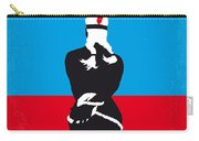 No136 My Soldier Blue Minimal Movie Poster Carry-all Pouch