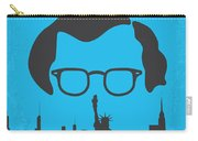 No146 My Manhattan Minimal Movie Poster Carry-all Pouch by Chungkong Art