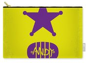 No190 My Toy Story Minimal Movie Poster Carry-all Pouch by Chungkong Art
