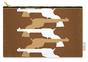 No197 My The Magnificent Seven Minimal Movie Poster Carry-all Pouch by Chungkong Art