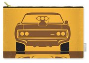 No207 My The Fast And The Furious Minimal Movie Poster Carry-all Pouch by Chungkong Art