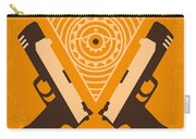 No209 Lara Croft Tomb Raider Minimal Movie Poster Carry-all Pouch by Chungkong Art
