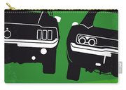 No214 My Bullitt Minimal Movie Poster Carry-all Pouch by Chungkong Art