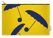 No254 My Singin In The Rain Minimal Movie Poster Carry-all Pouch by Chungkong Art