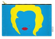 No284 My Week With Marilyn Minimal Movie Poster Carry-all Pouch