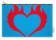 No337 My Wild At Heart Minimal Movie Poster Carry-all Pouch