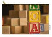 Noah - Alphabet Blocks Carry-all Pouch