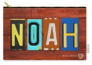 Noah License Plate Name Sign Fun Kid Room Decor. Carry-all Pouch