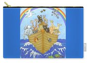 Noah's Ark Carry-all Pouch by Alison Stein