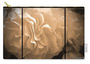 Non-stop Begonia Triptych Carry-all Pouch