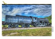 Norfolk And Western Steam Locomotive No 606 Carry-all Pouch
