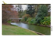 Norfolk Botanical Gardens Canal 3 Carry-all Pouch