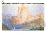 Norham Castle An Illustration To Marmion By Sir Walter Scott Carry-all Pouch