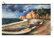 Normandy Coast - Landscape Oil Carry-all Pouch
