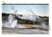 Norris Geyser Basin Yellowstone National Park Carry-all Pouch