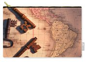 North America And Old Keys Carry-all Pouch
