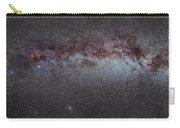 North America Nebula The Milky Way From Cygnus To Perseus And Andromeda Galaxy Carry-all Pouch