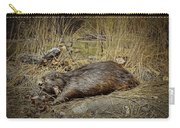 North American Beaver Carry-all Pouch