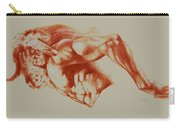 North American Minotaur Red Sketch Carry-all Pouch