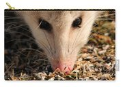 North American Opossum In Winter Carry-all Pouch