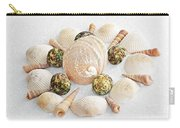 North Carolina Circle Of Sea Shells Carry-all Pouch