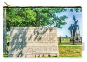 North Carolina Memorial Gettysburg Battleground Carry-all Pouch