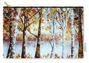 North Country Lake Superior Birch Trees Early Autumn Carry-all Pouch