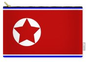 North Korea Flag Carry-all Pouch