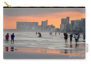 North Myrtle Beach At Sunset Carry-all Pouch