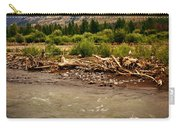 North Of Dubois 2 Carry-all Pouch by Marty Koch
