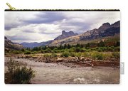 North Of Dubois 3 Carry-all Pouch by Marty Koch