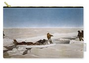 North Pole Dog Sled, C1910 Carry-all Pouch