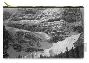 1m3536-bw-north Side Crowfoot Mountain  Carry-all Pouch
