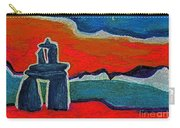 North Story Inukshuk By Jrr Carry-all Pouch
